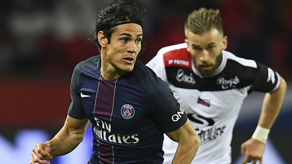 VIDEO: Quickfire Cavani double stuns Guingamp