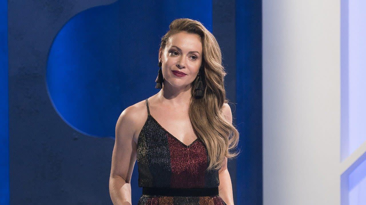 Alyssa Milano Movie Scenes alyssa milano talks final season of 'project runway all