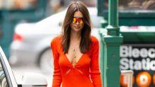 Emily Ratajkowski Puts Her Trademark Spin on These Trending Sunglasses