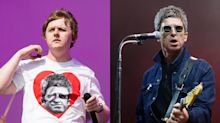 Lewis Capaldi laughs off feud with 'lovely' Noel Gallagher as he reveals they've met face-to-face