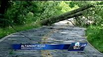 Greenville County storm damage