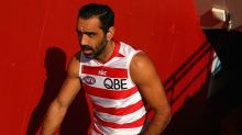 Adam Goodes 'emotional' after revisiting the racism that ended his career