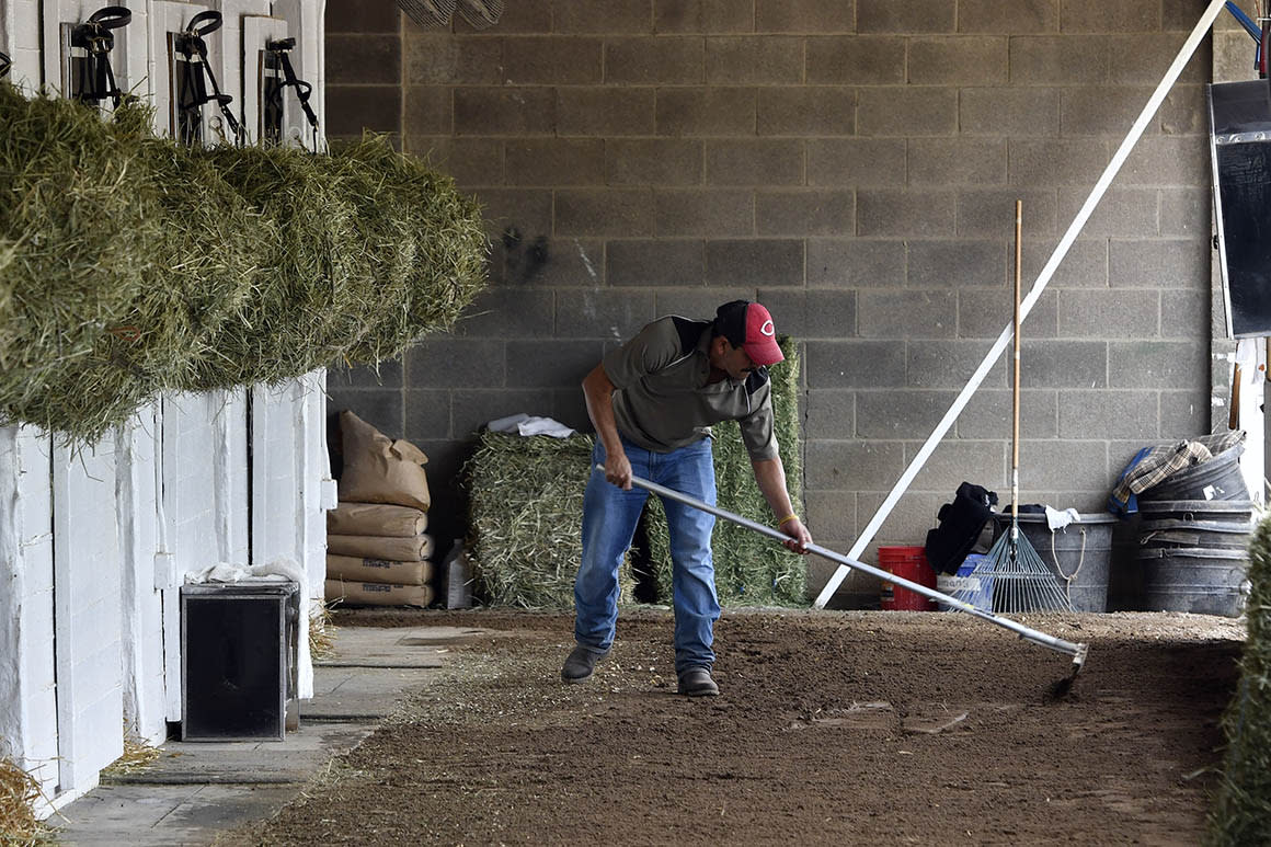 Ahead of Kentucky Derby, Trump's immigration squeeze has horse trainers boxed in