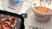 K11 MUSEA餐廳推介:Curator自訂圖案咖啡+百味堂韓式鐵板燒