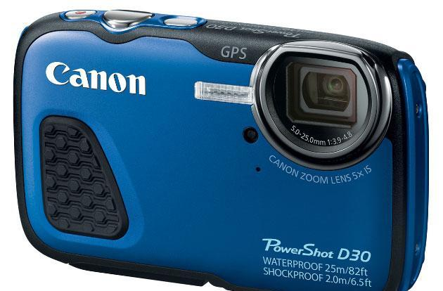 Head 82 feet below the surface with Canon's waterproof PowerShot D30
