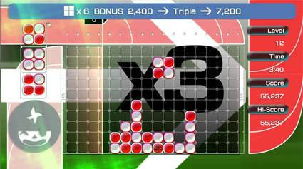 Download new Lumines Live! content, save the world
