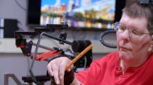 Brain implant, muscle stimulator help quadriplegic move again
