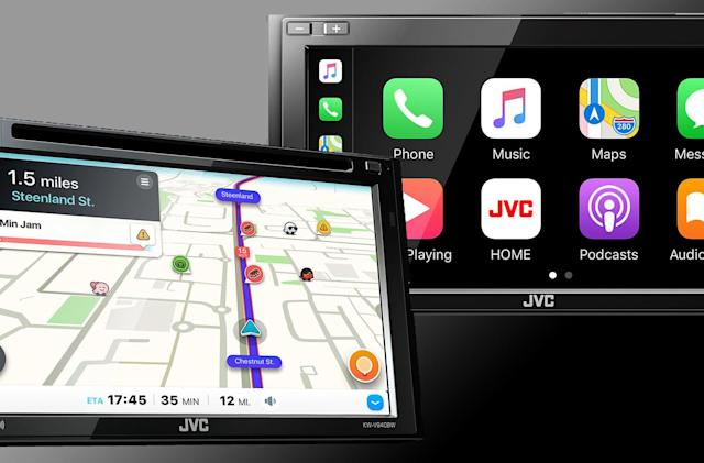 JVC and Kenwood's new head units pack wireless Android Auto