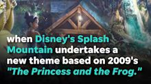 Splash Mountain log flume ride sinks at Disney World's Magic Kingdom