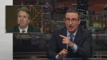 John Oliver pokes holes in Brett Kavanaugh's 'absolutely terrifying' testimony