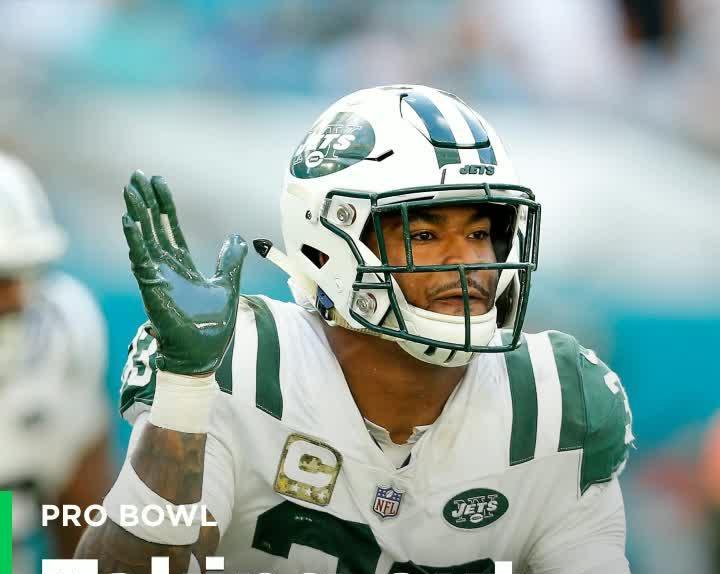 d7376e5bef5 Jets S Jamal Adams tackles Patriots mascot at Pro Bowl practice [Video]