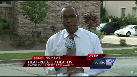 Three Milwaukee deaths attributed to hot weather