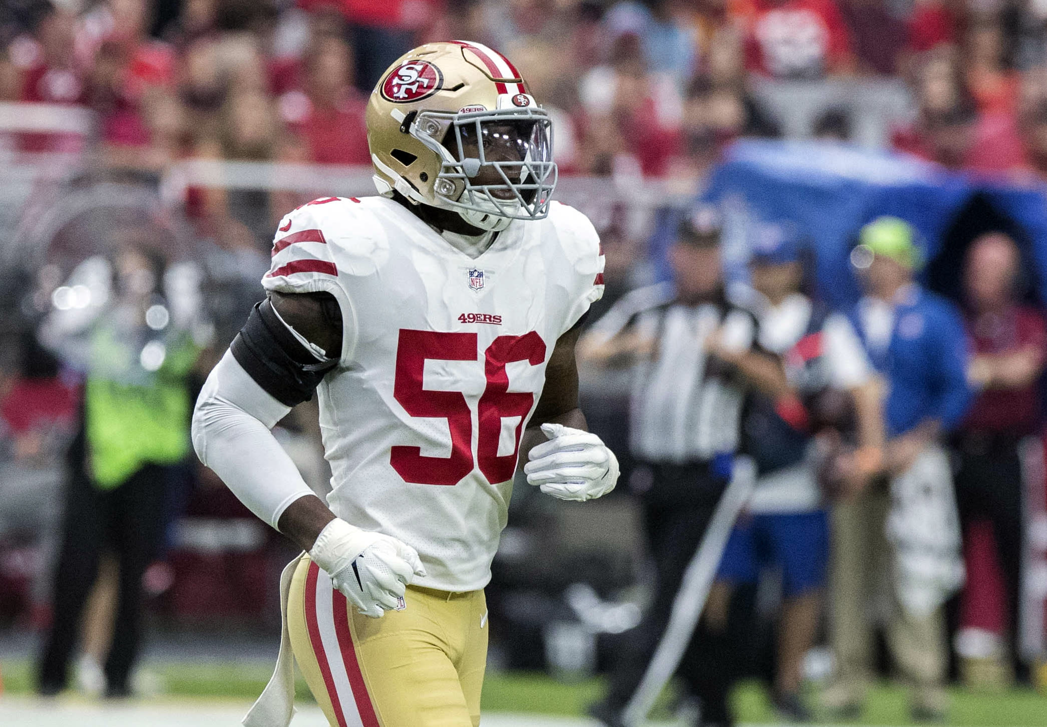 Reuben Foster's domestic violence charge dismissed