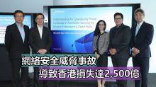 網絡安全威脅事故,導致香港損失達2,500億!