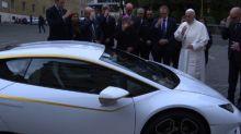 Un Lamborghini para el papa Francisco