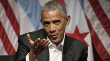 Obama makes first public remarks since leaving office