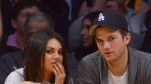 Mila Kunis and Ashton Kutcher deny split reports with hilarious video