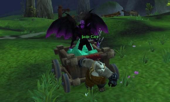"""Blood Pact: """"En Doomguarde!"""" shouts the warlock tank"""