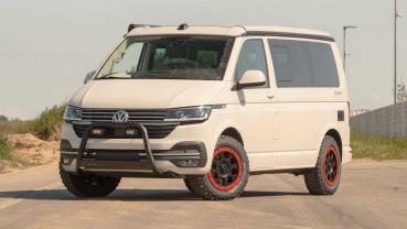 經Delta4x4抬高之後的VW Transporter能夠探險廣闊的野外環境了