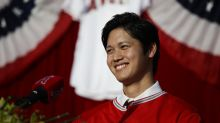 Shohei Ohtani had a PRP injection in pitching elbow in October