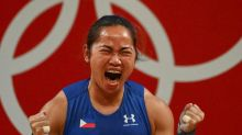'So proud': Philippine weightlifter Diaz hailed for historic Olympic gold