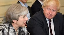 """May kritisiert Johnsons Brexit-Politik als """"unverantwortlich"""""""