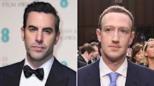 Sacha Baron Cohen Slams Facebook and Says Company Would Have Let Adolf Hitler Buy Political Ads