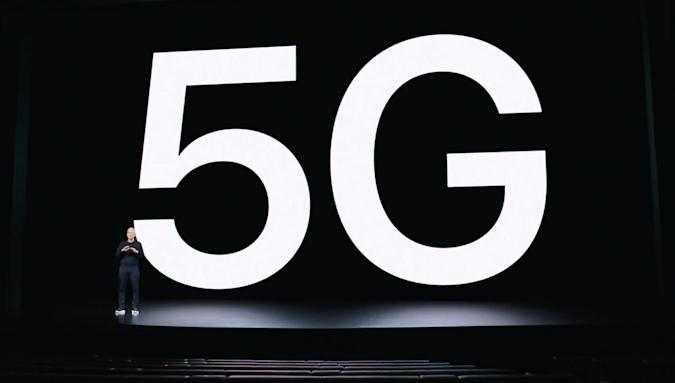 Apple announces 5G for iPhone 12
