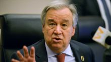 UN chief urges new transit point for aid to Syria