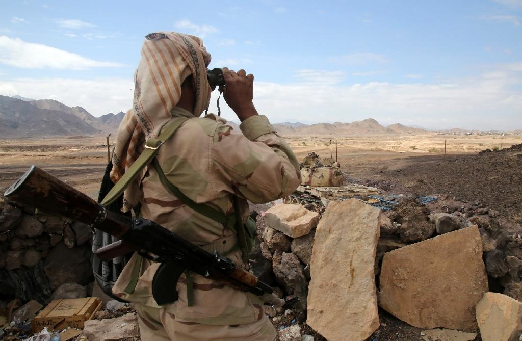 Cross-border shelling from Yemen into Saudi Arabia has claimed the lives of five members of the security forces and three civilians in four days