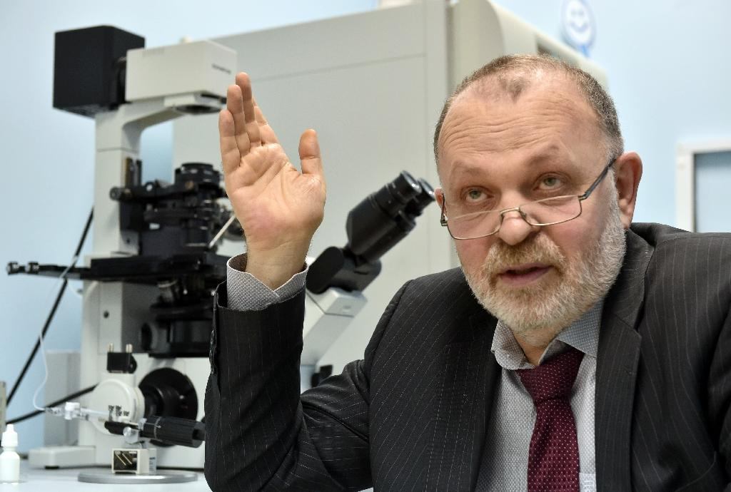 Pioneering doctor Valeriy Zukin created a moral dilemma by developing a novel and still-unperfected technique that allows infertile couples have babies with the help of a third parent (AFP Photo/Genya SAVILOV)
