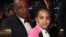 Blue Ivy just told off grandma for filming