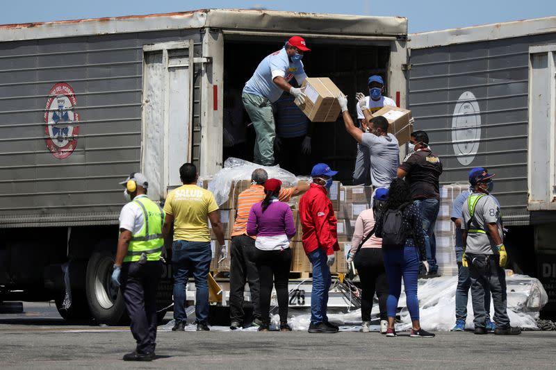 Venezuela fuel shortages hinder food delivery amid coronavirus ...