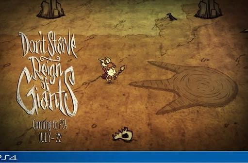 Don't Starve: Reign of Giants just eats it on PS4 next week