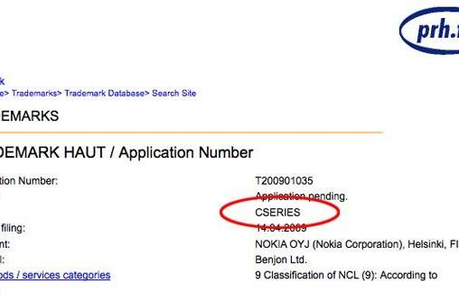 "Nokia files for ""Cseries"" trademark -- but what's it for?"