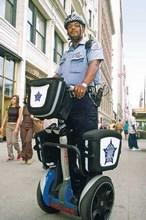 Chicago cop chases down gunman on Segway