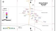 Bonterra Intersects High Grade Gold in New Zone at Moroy
