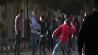 Raw: Anti-Ggovernment Protests in Cairo