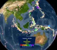 Watch Every Recorded Earthquake Around the World in the Last 15 Years (in Under 4 Minutes)
