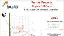Precipitate Enhances Copey Hill Epithermal Gold Zone Target at Ponton Project, Dominican Republic