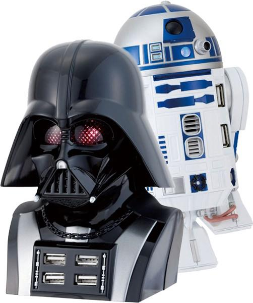 Video: Darth Vader and R2D2 hubs fulfill your dork destiny