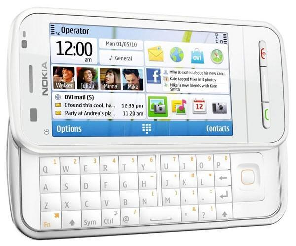 Nokia C6 is actually a 5230-ish landscape slider?