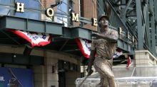 Ken Griffey Jr.'s bronze bat was stolen from his Safeco Field statue