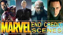 9 Best Marvel End Credit Scenes: Avengers, X Men & More!