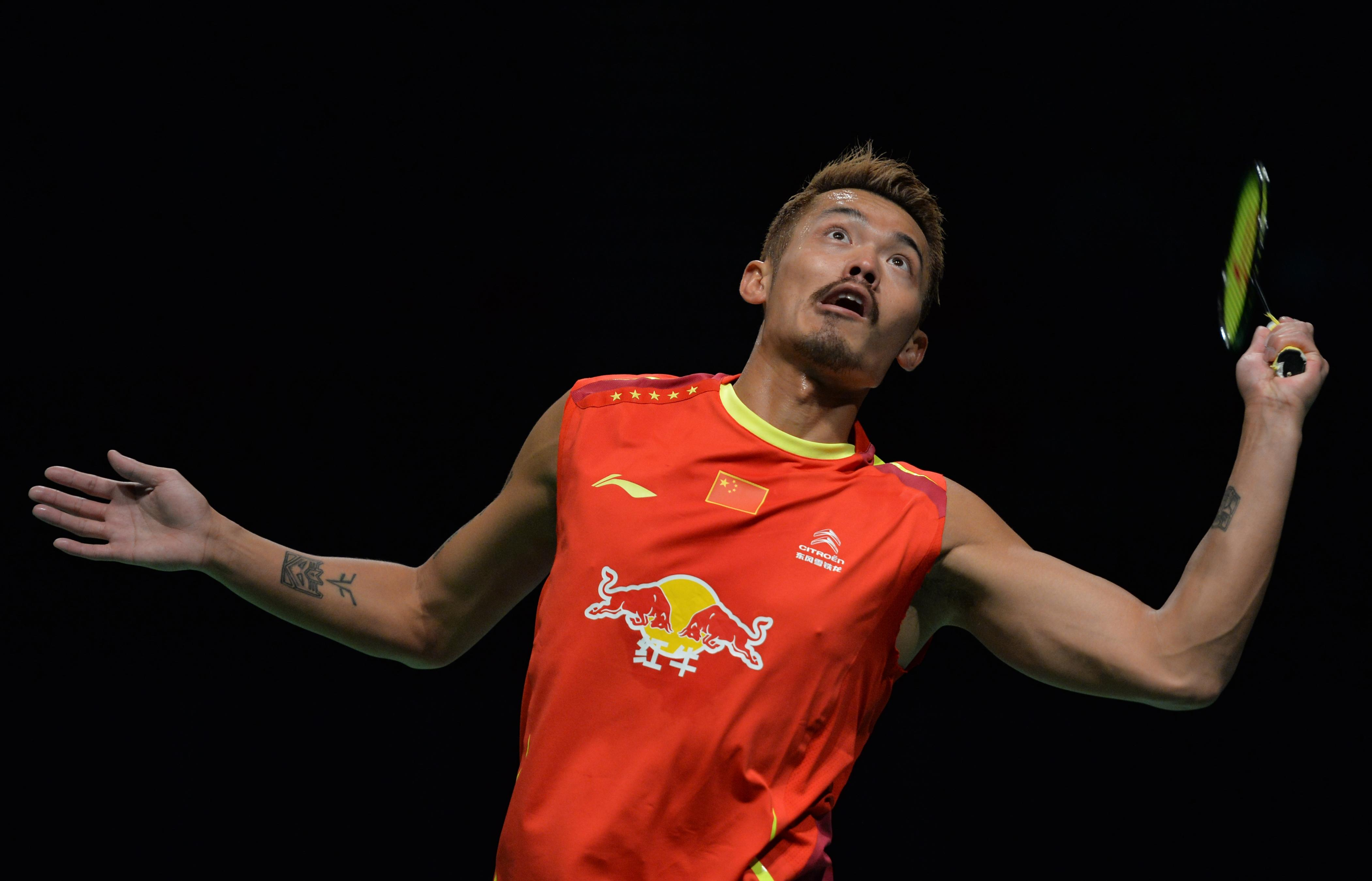Lin into Australian badminton final against Santoso