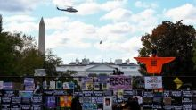 A nation on edge: Uncommon threats, fears mark this U.S. election day