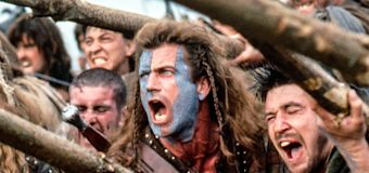 Mel Gibson almost didn't play Scottish rebel hero