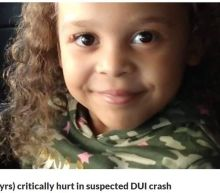 5-year-old critically injured in crash with Britt Reid leaves hospital after 2 months
