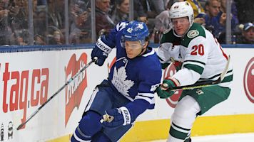Moore's promotion sparks Leafs in win over Wild