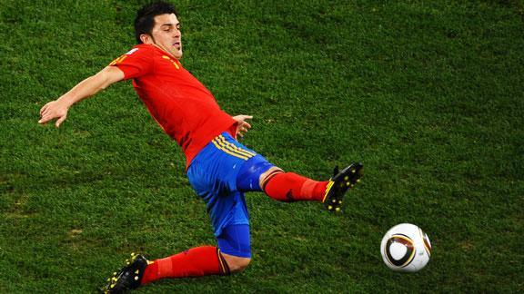 Is David Villa the best player in this World Cup?